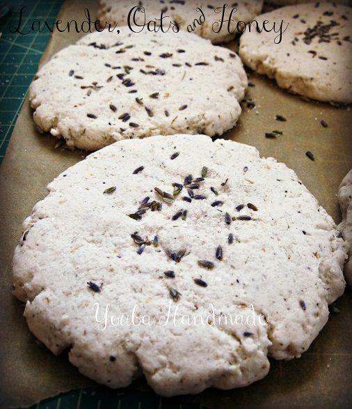 Lavender, Oats & Honey Bath Cookie
