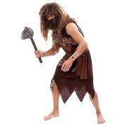buttinette Angebot Neandertaler Kostüm für Herren, schwarz/LeodesignIhr QuickBerater