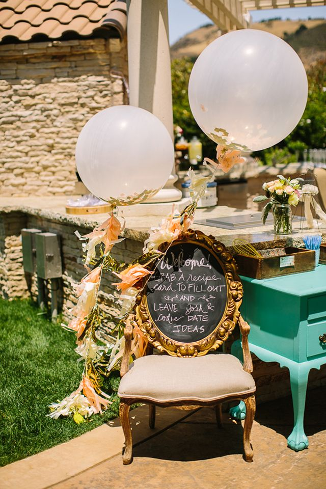 Michaela Noelle Designs: Featured: Sweet Tea Backyard Bridal Shower