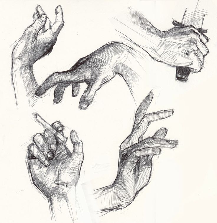 hand studies by greyfin.deviantart.com on @deviantART
