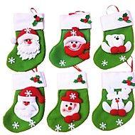 6pcs+/+lot+μίνι+σακούλες+αποθήκευσης+Χριστούγεννα+κάλτσα+/+κάλτσες+τσάντα+καραμέλα+τσάντα+χριστουγεννιάτικο+δώρο+Χριστουγεννιάτικη+–+EUR+€+11.07