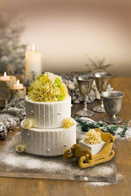 渋谷ヒカリエのクリスマスケーキ、「ルワンジュ東京」「ヨロイヅカファーム・トーキョー」など   ニュース - ファッションプレス