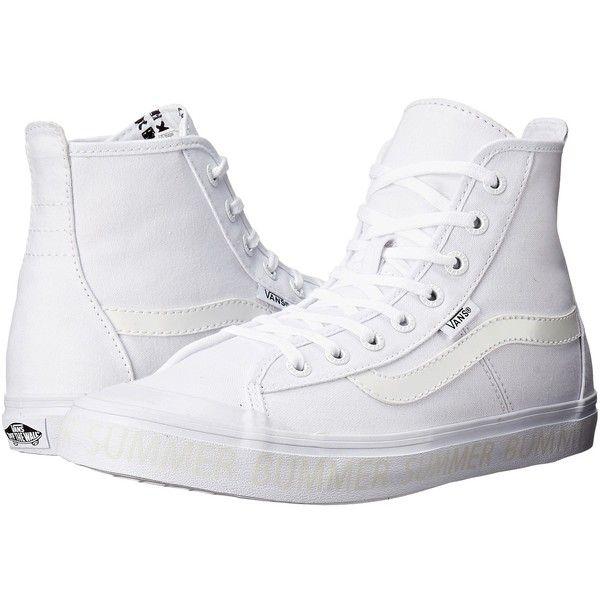 vans shoes high tops white. vans dazie-hi gossamer green) women\u0027s shoes ($70) ❤ liked on polyvore high tops white u