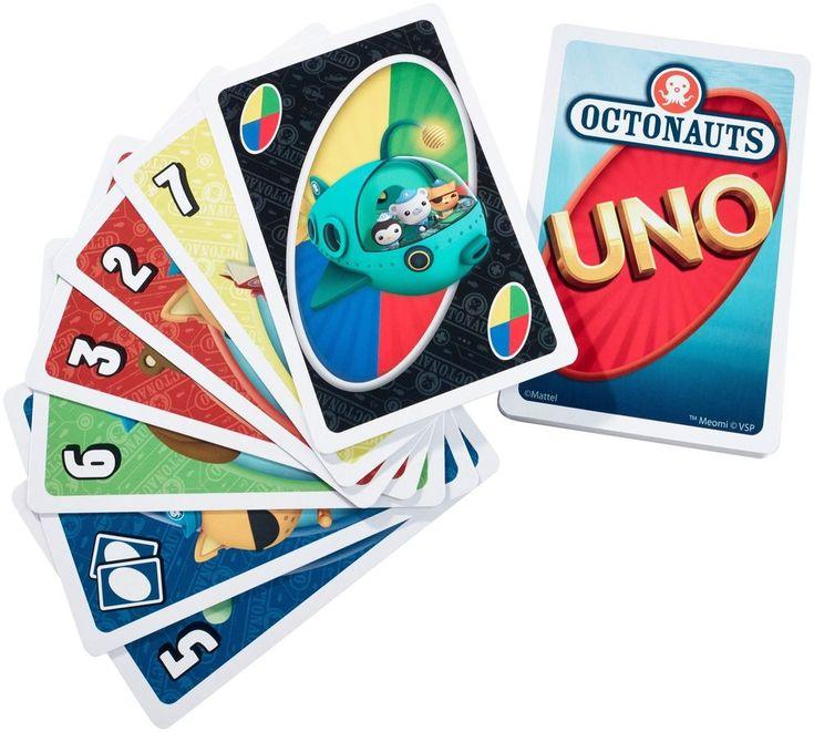 My first uno octonauts card game mattel octonauts