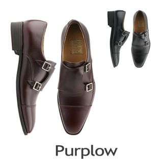Buy 'Purplow – Double Monk-Strap Slip-Ons' with Free Shipping at YesStyle.co.uk. Browse and shop for thousands of Asian fashion items from South Korea and more!