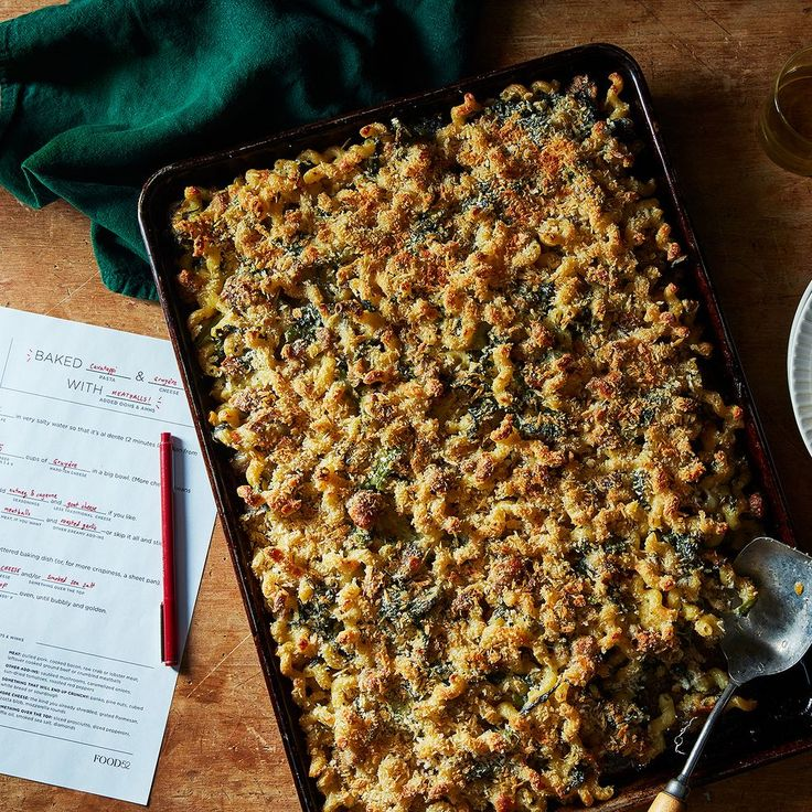 Play This Game, Plan Your Dinner on Food52  FILL IN THE BLANK-PASTA< MEAT CASSEROLE, SOUP, CHILI