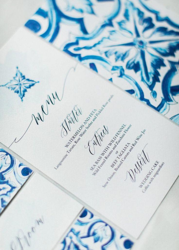 Stunning Destination Wedding in Santorini