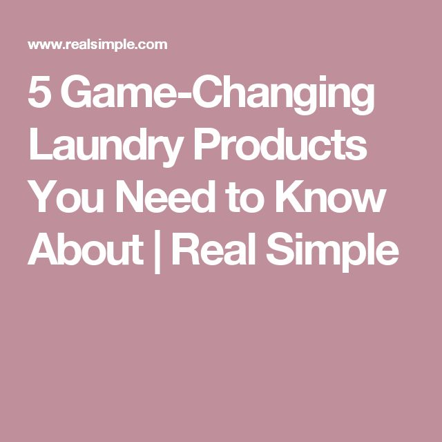 5 Game-Changing Laundry Products You Need to Know About
