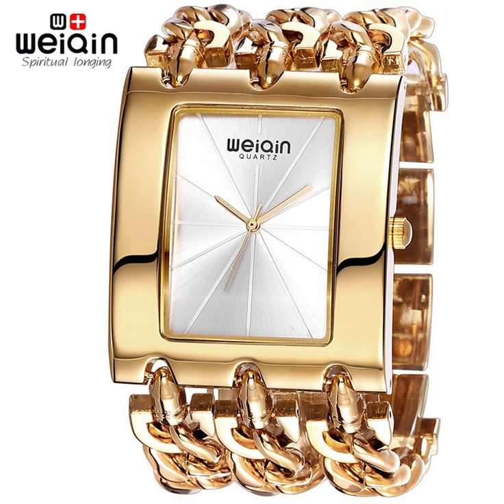 Luxury WEIQIN Brand Gold Ladies Bracelet Watch - Waterproof Fashion Bangle Dress Wristwatch //Price: $44.86 & FREE Shipping //     #hashtag3