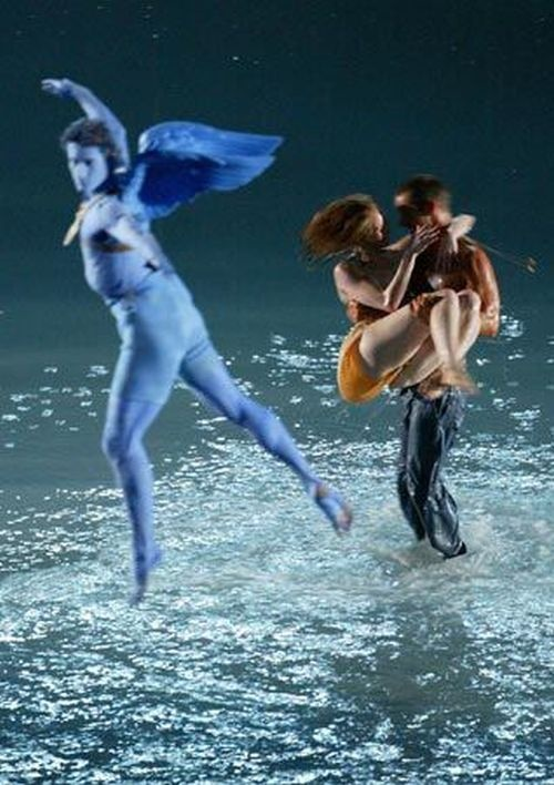 God Eros , Athens 2004 Olympic Games Opening Ceremony (dimitris papaioannou)