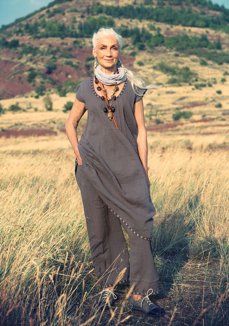 Dress in cotton & linen – Gudruns grey zones – GUDRUN SJÖDÉN – Webshop, mail order and boutiques | Colourful clothes and home textiles in natural materials.