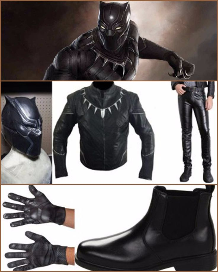 A Costume Guide of  Black Panther for #CAPTAINAMERICA real #FANS. #Angeljackets. ANGELJACKETS.COM
