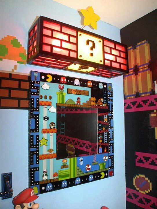 Cool Room Any One Who Likes Video Games Would Love This