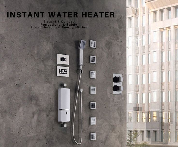 New Model AC220V 16A 3000W Instant Water Heater Kitchen Bathroom Electrical Hot Water Faucet | Alex NLD
