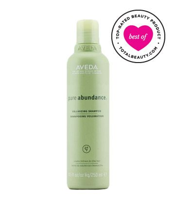 """Best Shampoo for Fine Hair No. 8: Aveda Pure Abundance Volumizing Shampoo, $21 TotalBeauty.com Average Member Rating: 8.6*  Why it's great: A self-proclaimed beauty """"cheapskate"""" says she's happy to spring for this high-end shampoo. """"Pure Abundance is the only product I've found that actually does the trick,"""" she writes.   """"Every time I try a different shampoo, I end up coming right back to this one,"""" says another reviewer. """"I love the scent and the way it works with my hair."""""""