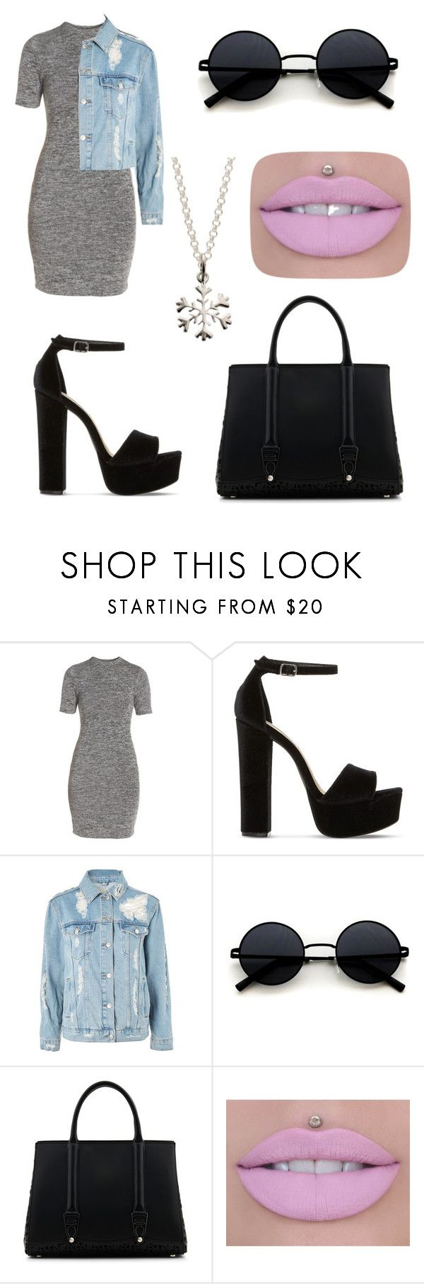 """Untitled #51"" by volkovanasty ❤ liked on Polyvore featuring French Connection, Steve Madden, Topshop, La Perla, Jeffree Star and Lily Charmed"