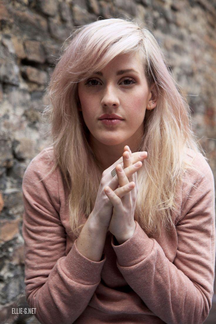 Ellie Goulding Pink hair UHQ