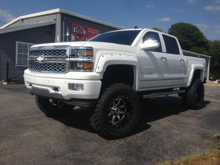 "Chevrolet Silverado 1500 4wd 2014-2017 7""-9"" SS Lift Kit W/Shocks - McGaughys Part#50767SS - Mcgaughys-Suspension.com"