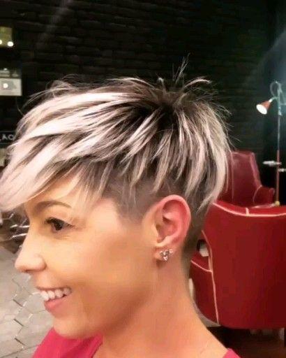 Kurze Frisuren – Pixie Hair – Kurzhaarschnitt #pixie #hair #shorthair