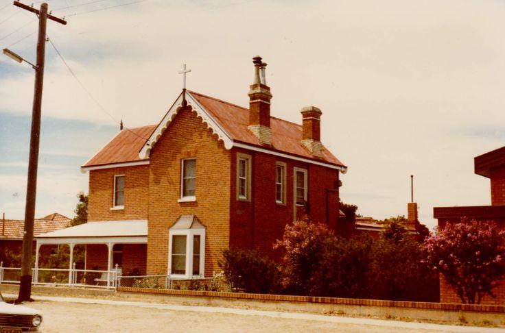 Cobar House, Bathurst, NSW home of Paddy & Annie Mathews, where Annie died .