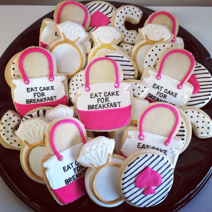 kate spade inspired bridal shower cookies camiu0027s cake co eudora ks camiscakeco camiu0027s cake co pinterest more cake ideas