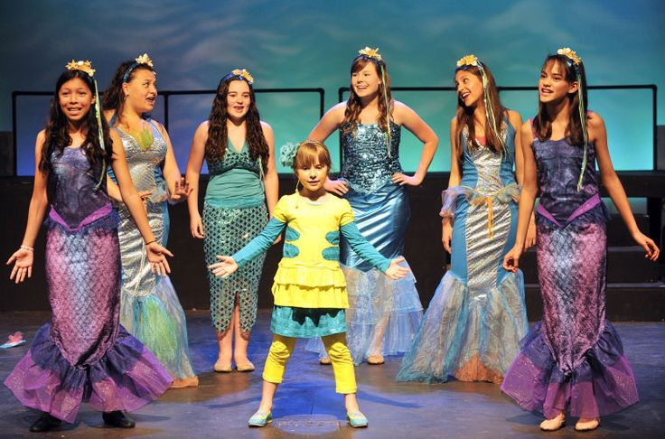 Mermaid costumes!