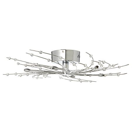 George Home Swirly Ceiling Light Fitting - 6 Lights