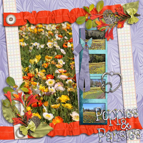 Jen C Designs - Picture Perfect Templates Vol 1  Kathryn Estry - Hello, Spring