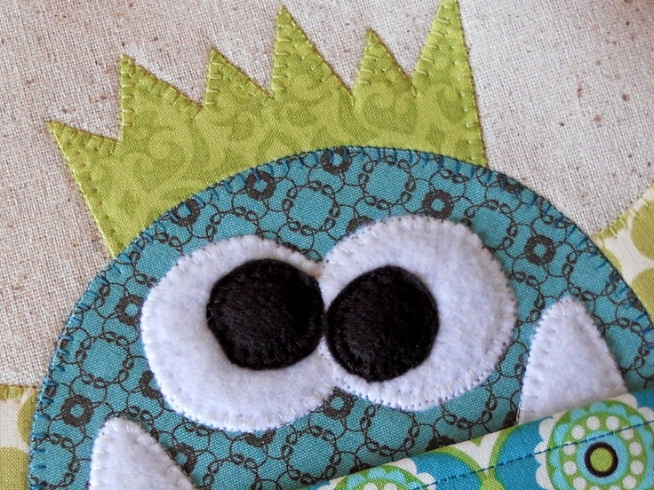How to Applique on Fabric . . .