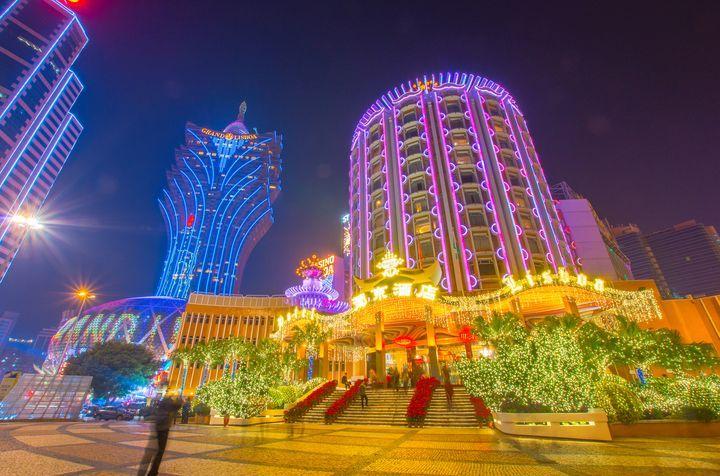 グランド リスボアとリスボアホテルは、マカオのおすすめ観光地