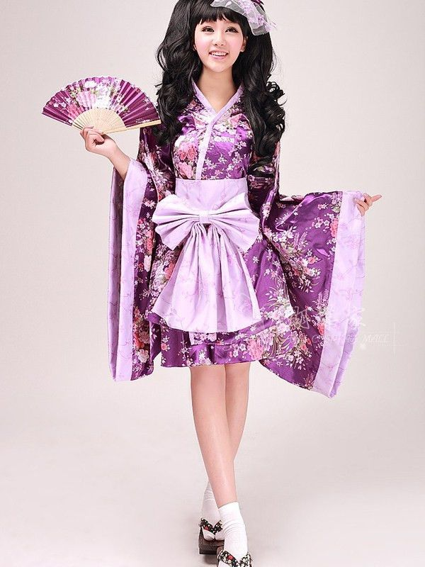 Japanese Kimono Cosplay Set Cute For Your Costume Day Or A