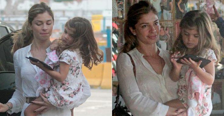 No Dia das Mães, Grazi Massafera almoça com Sofia, sua herdeira