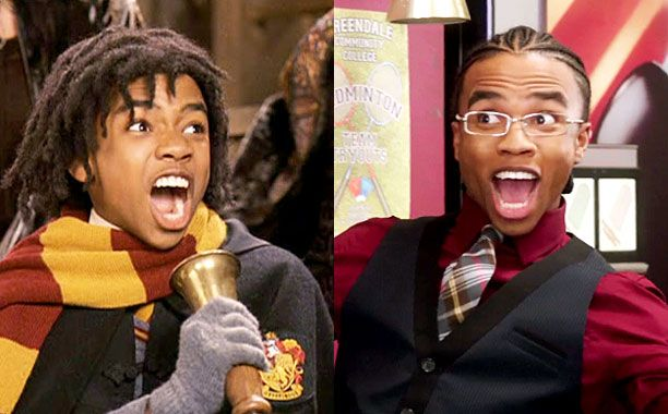 Harry Potter | Artistic credibility: Youngblood made less of an impression as Lee Jordan in the first two Potter films than he did as Magnitude on Community .