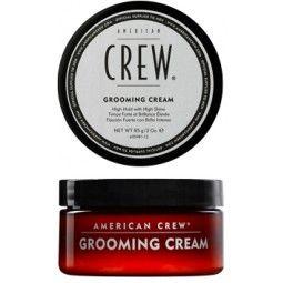 """Die """"Classic – Grooming Cream von American Crew"""" glättet stark gewelltes oder gelocktes Haar auf einzigartige Weise. Sie werden mit der Cream einen geraden und glatten Look erzielen. Durch die feuchtigkeitsspendende Elemente welche im Produkt erhalten sind, wird das Haar effektive vor dem Austrocknen geschützt."""