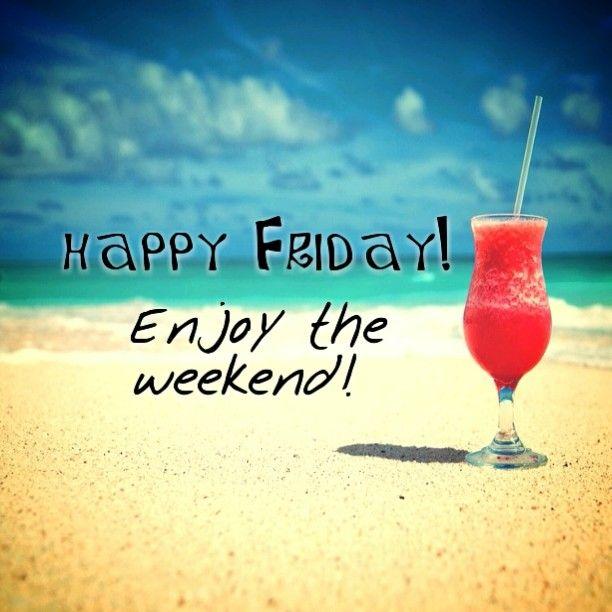 Happy friday! Enjoy the weekend - beach