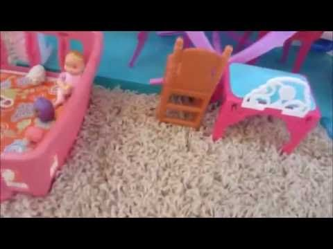 Updated Barbie House Tour - YouTube