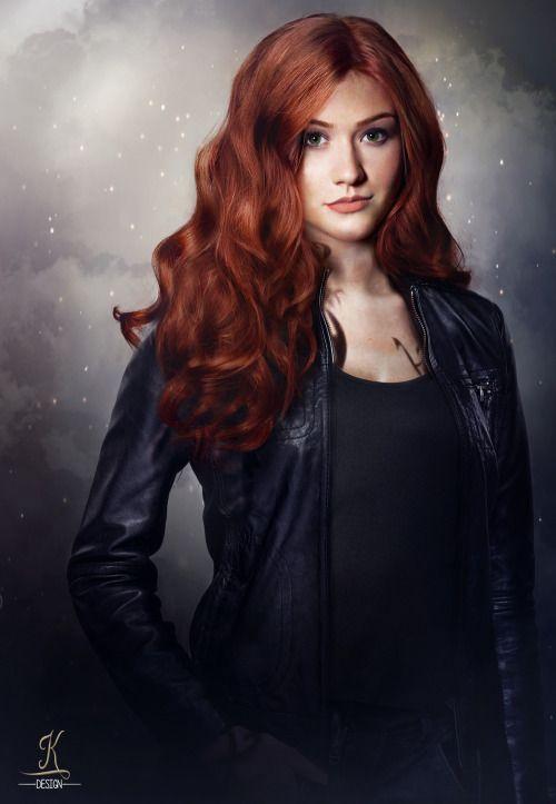Shadowhunters • Katherine McNamara as Clary Fray (Shadowhunter version of Clary) #fanart