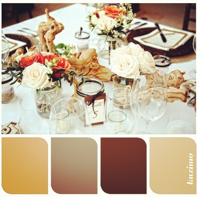 earthy palette perfect for any wedding decor in cabo