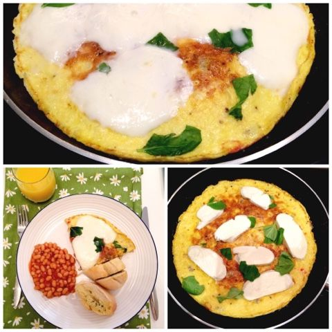 """Teo's : Delicious """"glorified"""" omlette"""