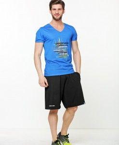 Full V yaka Tshirt: UPPERNESS Logolu