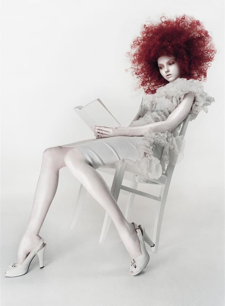 White Dreams | Lily Cole by Solve Sundsbo