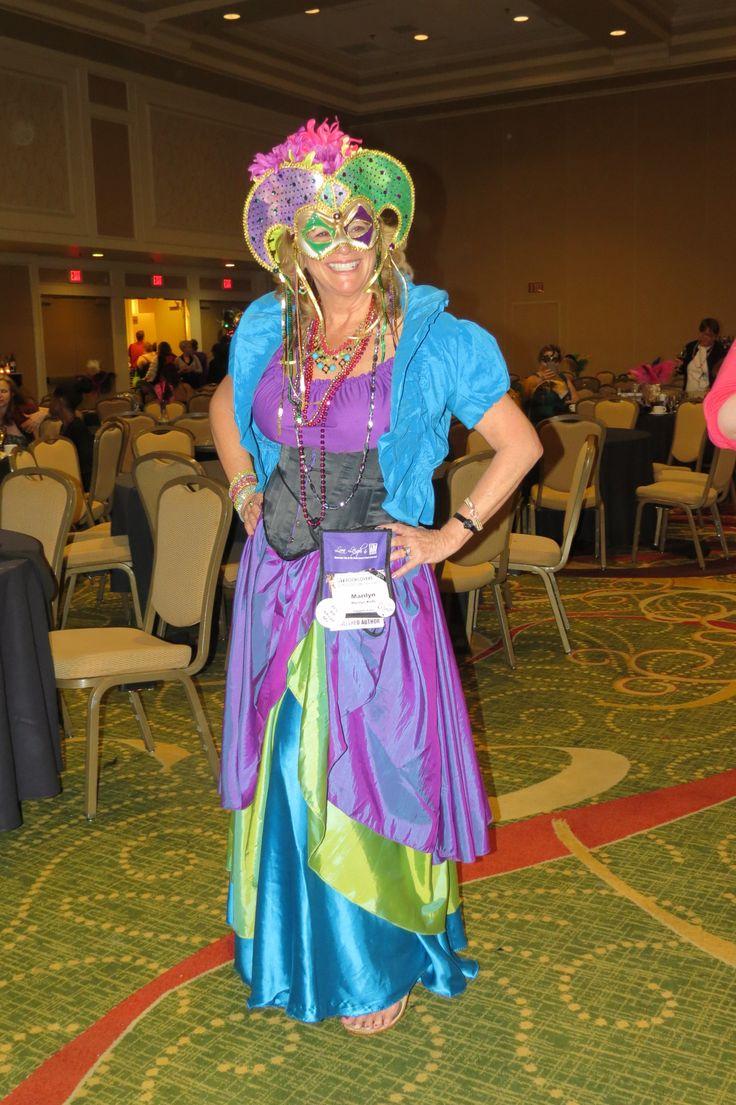 My Mardi Gras costume