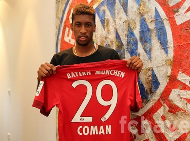 Kingsley Coman - FC Bayern Munich on loan from Juventus