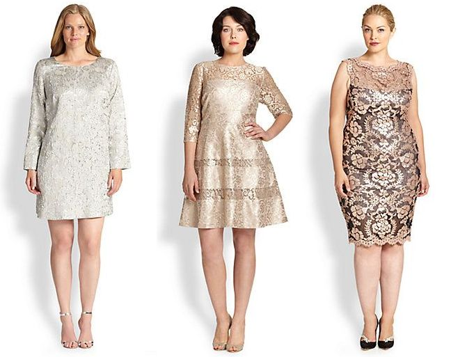 Shapely Chic Sheri - 50 Plus Size Holiday Dresses