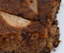 Pear, almond and chocolate cake ( Gluten free) by HW #ThermomixBakeOff