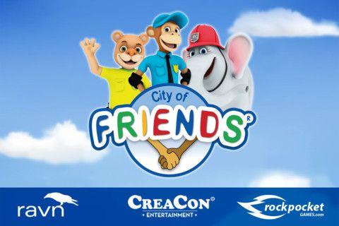 City Of Friends app