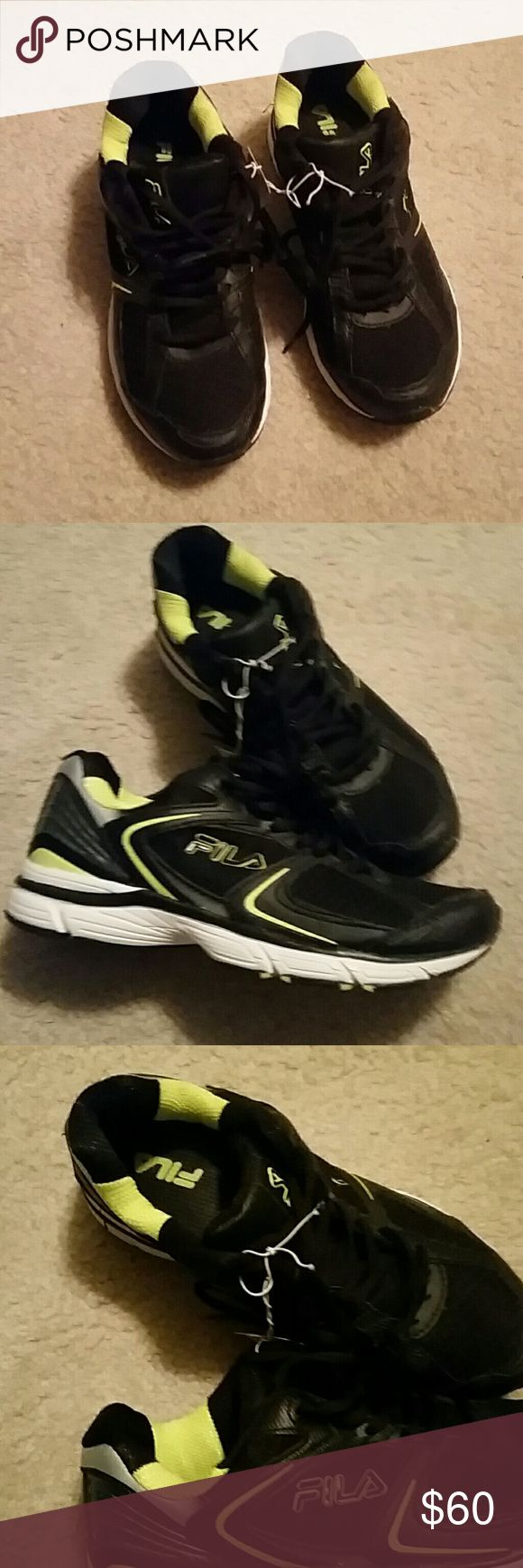 Fila running shoes! Never worn.  Brand new. Fila Shoes Sneakers