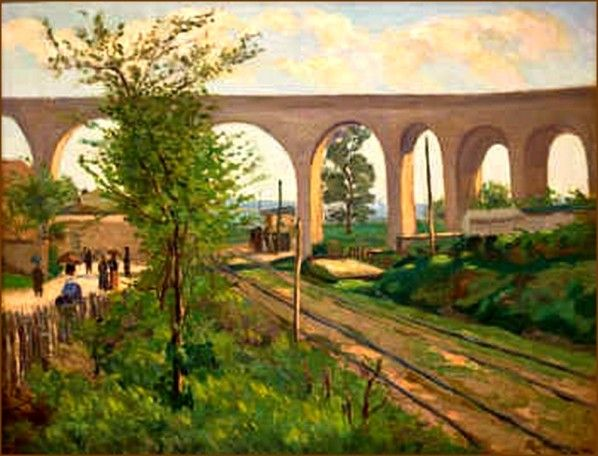 Jean-Baptiste-Armand Guillaumin (1841-1927) L'aqueduc d'Arcueil