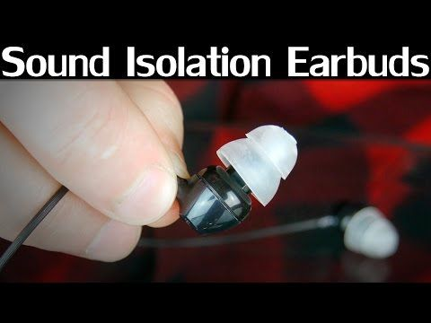 Make Your Own Noise-Isolating Earbuds from Silicone and Old Earplugs
