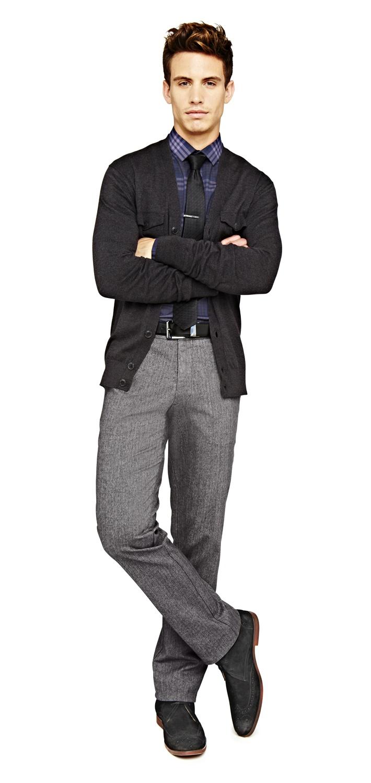 fresh take on business casual — jf j. ferrar thin striped ...